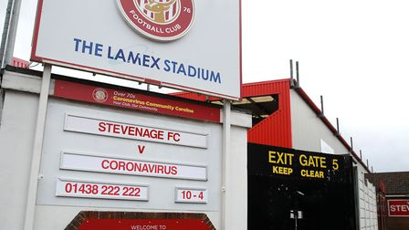 Stevenages trip to Tranmere Rovers and the home game with Exeter City have been postponed. Picture: ADAM DAVY/PA