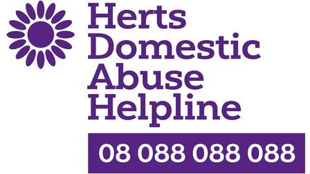 Picture: Herts Domestic Abuse Helpline