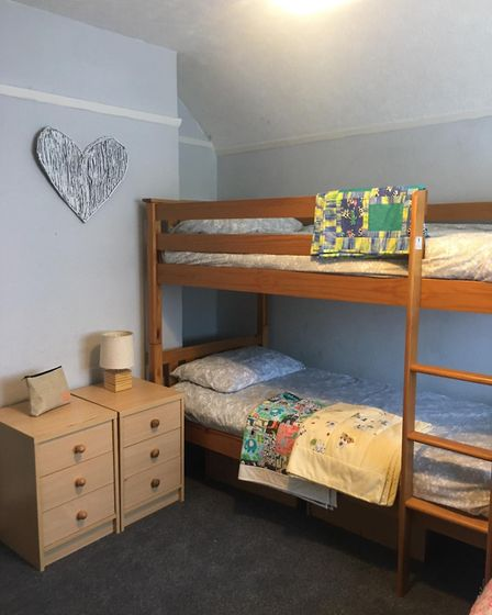 A bedroom waiting for a new family at a SAHWR refuge. Picture: SAHWR