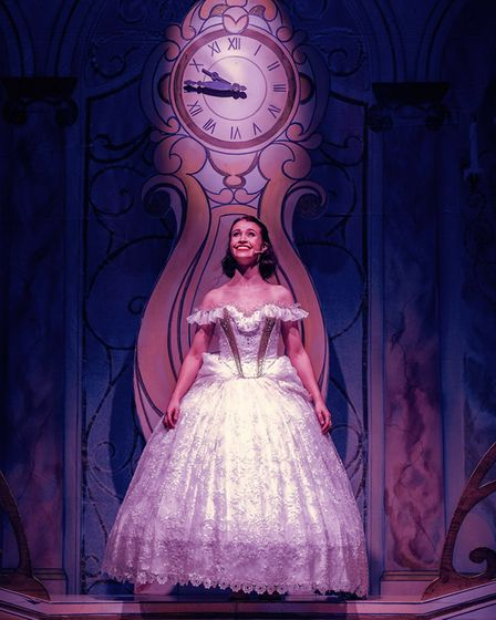 Tamsin January as Cinderella in Dame Trott's Panto Palaver at Cambridge Arts Theatre. Picture: Martin Bond, A Cambridge Diary