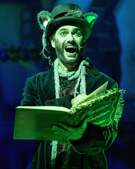 Stephen Beckett as Count Covidula in Dame Trott's Panto Palaver at Cambridge Arts Theatre. Picture: Martin Bond, A...