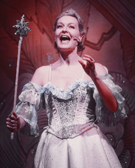 Chloe Taylor as Fairy Godmother in Dame Trott's Panto Palaver at Cambridge Arts Theatre. Picture: Martin Bond, A Cambridge...