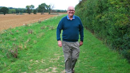 John Lambert is walking the distance of Pennine Way to raise money for Garden House Hospice Care, after the charity...