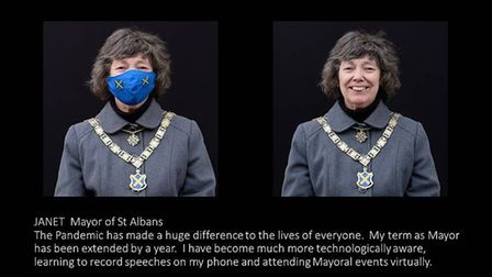 Nic Madge has been photographing St Albans people for a visual record of life under the pandemic.