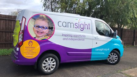 Cambridgeshire charity Cam Sight has launched a new mobile service. Pictures: Cam Sight