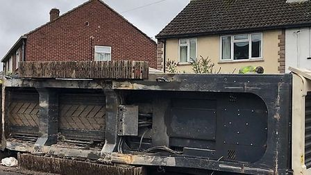 In 2019, a lorry shed its load in Grove Road, causing huge delays and injuring one person. Picture: Devi Jankowicz