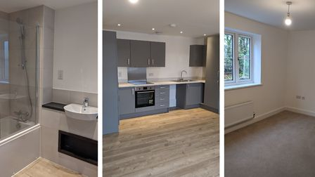 Inside the first of Cambridgeshire's £100k homes at Fordham near Newmarket. Mayor James Palmer tweeted the photos on...