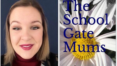 Upwell mum-of-two Holly Wilkin used the coronavirus lockdown to write her own book The School Gate Mums. Picture...