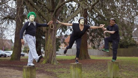 Trestle masks. The St Albans-based theatre company is looking for new trustees. Picture: Platform64