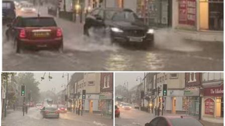 Fears 'appalling' clean-up of drains in St Neots could lead to flash floods that happened in August this year. Picture...