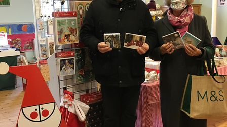 The St Albans Cards for Causes charity shop has been busy this Christmas.