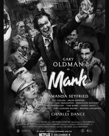 Mank can be seen at Royston Picture Palace.