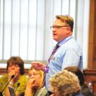 Councillor Steve Tierney has quit as chairman of Wisbech Castle working group blaming 'hateful people' for his decision.