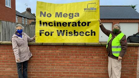 Banners are on display at various locations across Wisbech. Pictures: Kim Taylor