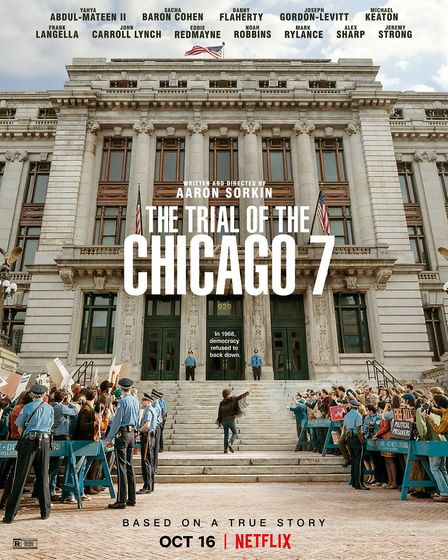 The Trial of the Chicago 7. Picture: Netfix