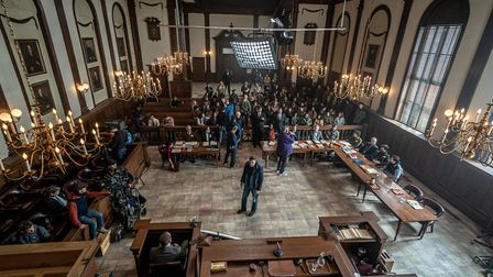 The Trial of the Chicago 7. Picture: Niko Tavernise/NETFLIX 2020