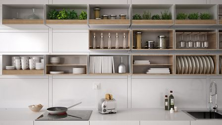 Stack your storage with extra layers of shelving and floor-to-ceiling cupboards and cabinets, storing less frequently used...