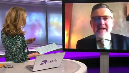 Barry Gardiner used a spot on BBC's Victoria Derbyshire to make a direct appeal to Unite boss Len Mc