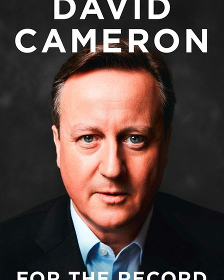 For the Record by David Cameron. Picture: William Collins
