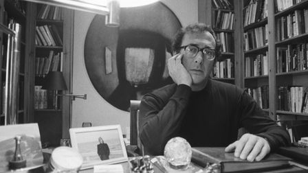 British playwright Harold Pinter on October 30, 1983. Photo: Express/Getty Images