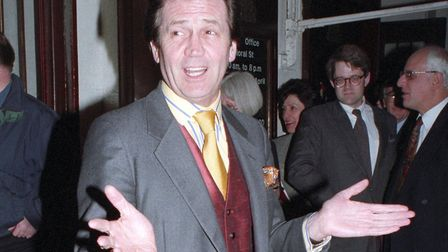 London April 13th 1995: Melvyn Bragg at The Royal Opera House. Photo: Tom Wargacki/WireImage