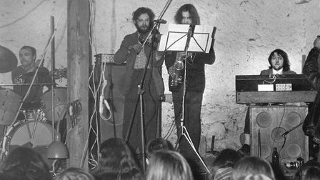 Czech Underground Band Plastic People Of The Universe Performing At Hradecek Cottage That Belonged T