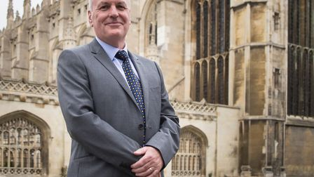 Peter Dawe, a former Brexit Party candidate for Cambridge. Photograph: Archant.