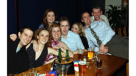 Customers at Pals in Ipswich in 2004