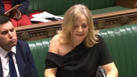 Tracy Brabin raising a point of order in the Commons on Monday follwing Downing Street's decision to order senior...