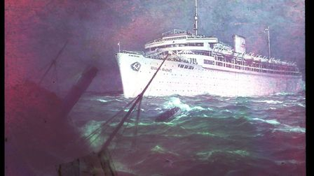 DOOMED: The ill-fated Wilhelm Gustloff. Photo by Hugo Jaeger/Timepix/The LIFE Picture Collection via