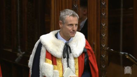 Zac Goldsmith is sworn in as a member of the House of Lords. Lord Goldsmith of Richmond Park will re