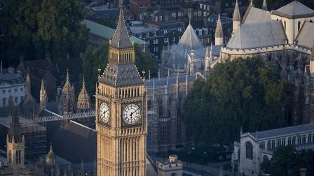 Elizabeth Tower, which houses Big Ben, at the House of Commons in Westminster. Photograph: Victoria