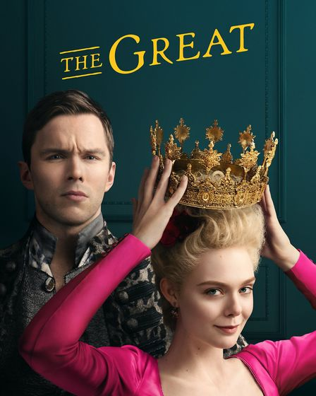 The Great starring Nicholas Hoult and Elle Fanning is coming to Channel 4 in January 2021. Picture: