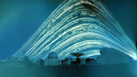 University of Hertfordshire student Regina Valkenborgh's image composed from a six-month exposure of