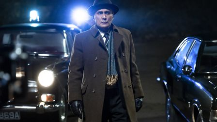 Ramon Tikaram as Detective Inspector Aziz in the second season of Pennyworth. Scenes from the series