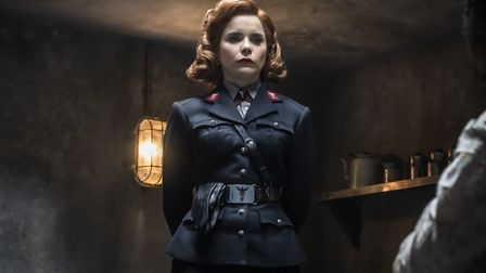 Paloma Faith as Bet Sykes in episode one of Pennyworth season two. Picture: Alex Bailey/Epix