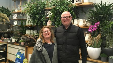 Lambert's Flower Company owners Nicola and Paul are remaining positive for the future.