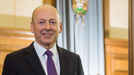David Williams, the leader of Hertfordshire County Council. Photo: Pete Stevens.