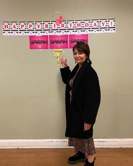 Sarah celebrated her birthday there during lockdown. Picture: Resolve