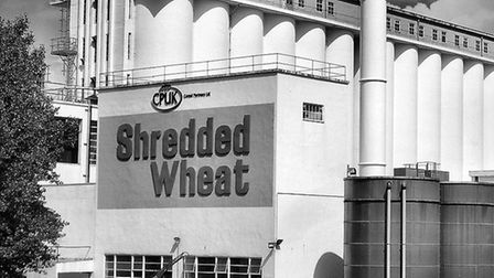 The Shredded Wheat factory in Welwyn Garden City. Picture courtesy of Louis de Soissons.