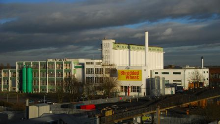 The former Shredded Wheat factory in WGC