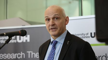Vice-Chancellor of the University of Hertfordshire Quintin McKellar. Picture: DANNY LOO