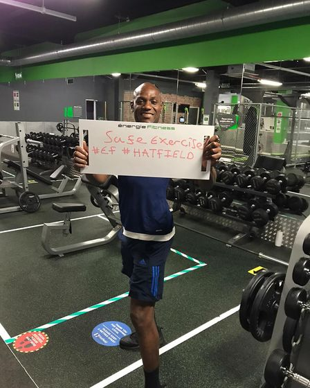 Energie Fitness Hatfield has supported the community through lockdown. Picture: Supplied