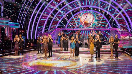 The 2020 Strictly Come Dancing celebrity and professional dancers. Picture: BBC/Guy Levy