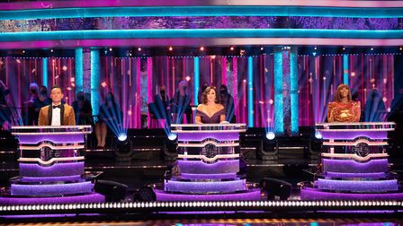 Strictly Come Dancing judges Craig Revel Horwood, Shirley Ballas, and Motsi Mabuse. Picture: BBC/Gu