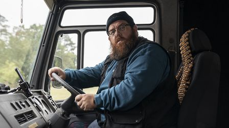 Nick Frost as Gus Roberts in new Amazon Original series Truth Seekers. Picture: Stolen Picture/Amazo