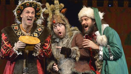 Horrible Histories can be seen on stage in Horrible Christmas at Knebworth House on Christmas Eve. P