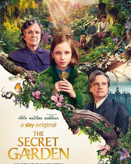 The Secret Garden starring Colin Firth, Julie Walters and Dixie Egerickx can be seen in cinemas and
