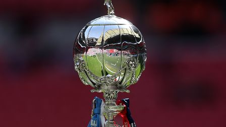 The draw for the third qualifying round of the FA Trophy was made at Wembley Stadium. Picture: SIMON