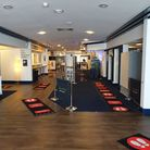 The cinema at Campus West in Welwyn Garden City is open with safety measures in place. Picture: Camp